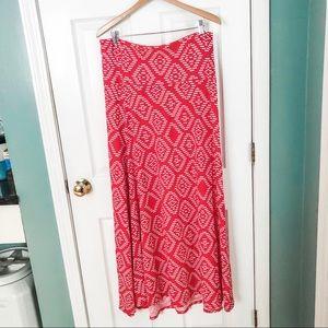 PINK! PINK! Brand new!! Lularoe Maxi skirt
